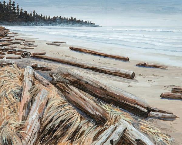 Wickininnish Beach in Ucluelet/Tofino, BC.