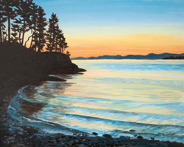 Sunset in Nanoose Bay, BC