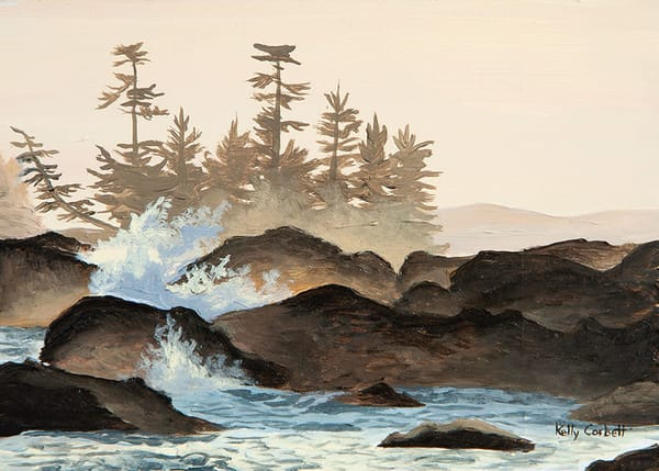 The wild pacific in Ucluelet, BC