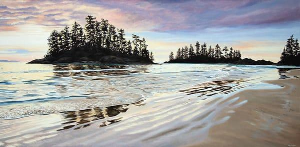 Sunset at Schooner Cove in Tofino, BC.