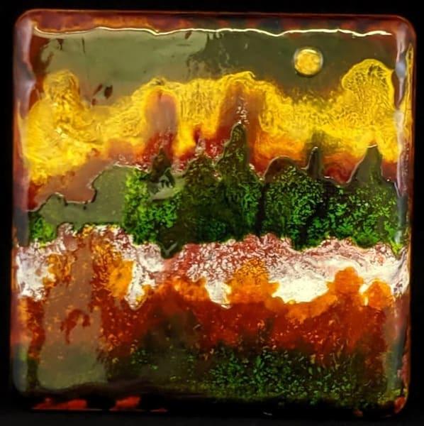 Kay Ridge, original artwork, abstract, nature, Moonscape 107