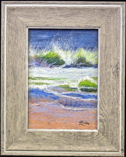 Kay Ridge - original artwork - nature - ocean - abstract - Ocean Wave 101