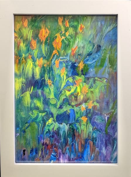 Kay Ridge - original artwork - nature - flowers - Summer's Arrival