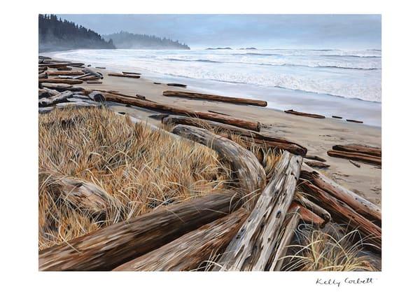 Tofino, Wickininnish beach west coast art card