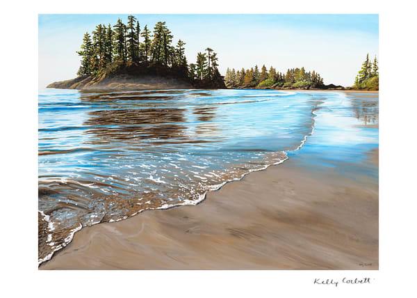 Tofino west coast landscape art card