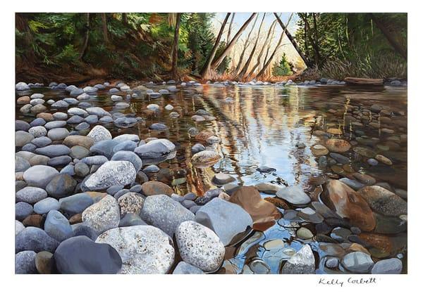 Holland Creek art card