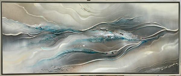 Flowing River Original Art | John Blowers Art