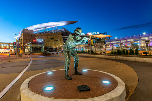 Rod Carew Statue And Target Field Photography Art | William Drew Photography