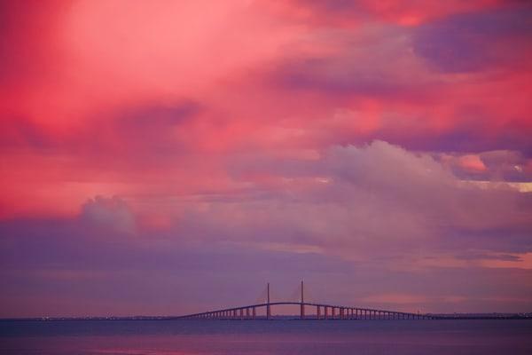 Tampa Bay Sunrise Photography Art | CJ Harding