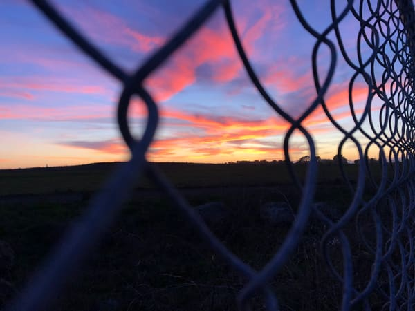 Chained Sunset Art | Off The Edge Art