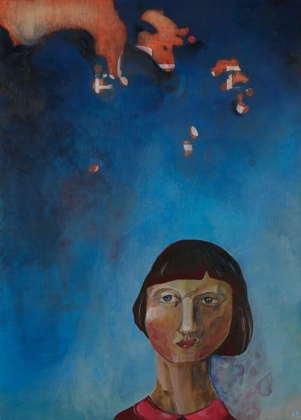 Feel Blue Art   Mina Vancardo