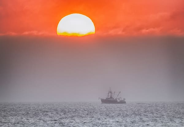 East Chop Trawler Sunrise Photography Art | Michael Blanchard Inspirational Photography - Crossroads Gallery