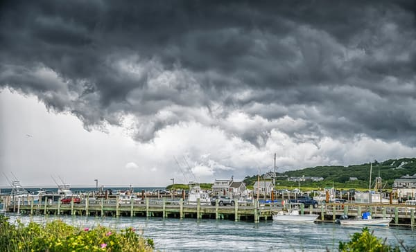 Menemsha Summer Thunder Photography Art | Michael Blanchard Inspirational Photography - Crossroads Gallery