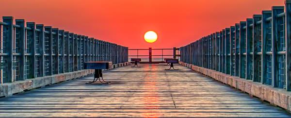 Oak Bluffs Summer Pier Photography Art | Michael Blanchard Inspirational Photography - Crossroads Gallery
