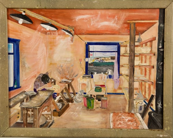 #8.  'potter's Studio' Art | Cera Arts
