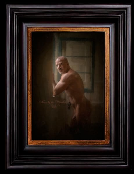 Man by the Window, Limited Edition, Ben Fink, Art Print,