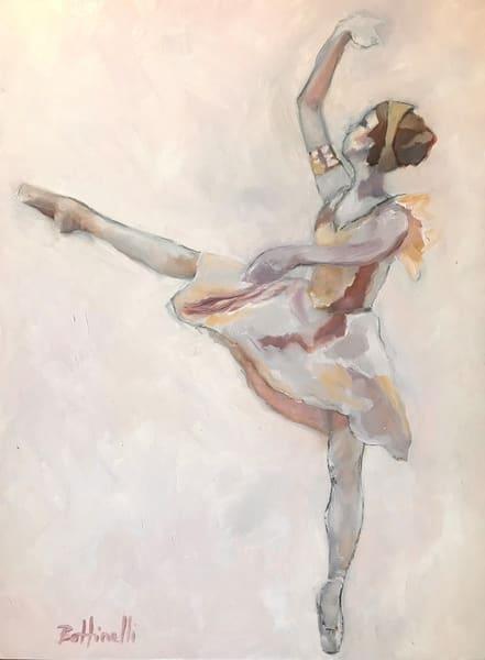 Pink Ballerina   Original Art | Bottinelli Fine Art