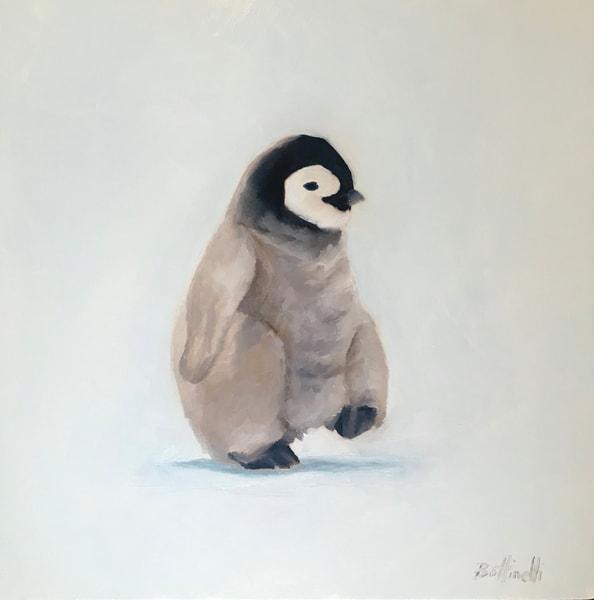 Penguin Chick Ii   Original Art | Bottinelli Fine Art