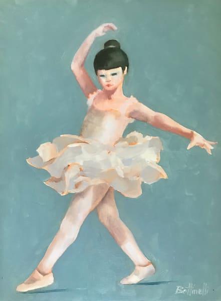 Small Ballerina   Original Art | Bottinelli Fine Art