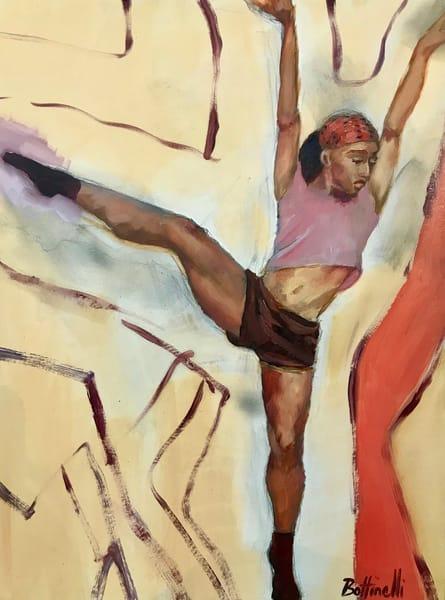 The Dancer   Original Art | Bottinelli Fine Art