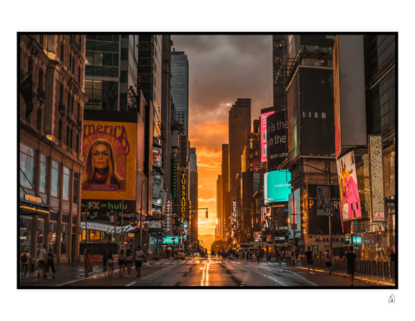 Manhattanhenge 42 Street Photography Art   Cid Roberts Photography LLC