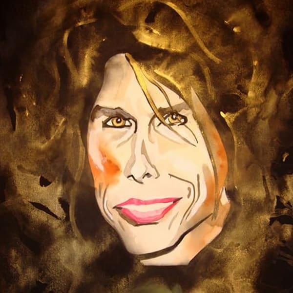 Steven Tyler Coaster Art   William K. Stidham - heART Art