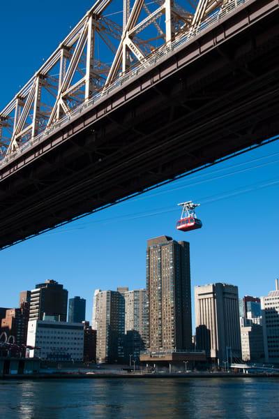 59th Street Bridge And Roosevelt Island Tramway Photography Art | Ed Lefkowicz Photography