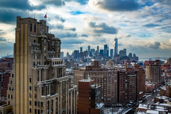 Downtown Manhattan From The Google Building Photography Art | Ed Lefkowicz Photography