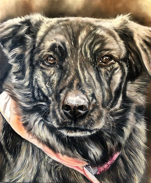 Custom Pet Portraits By Bobby Vandenhoorn Art | artloversgallery