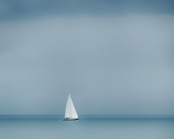 Sailing Single Handed Art | Michael Blanchard Inspirational Photography - Crossroads Gallery