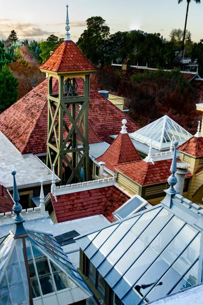 Too Many Roofs Photography Art | Ron Olcott Photography