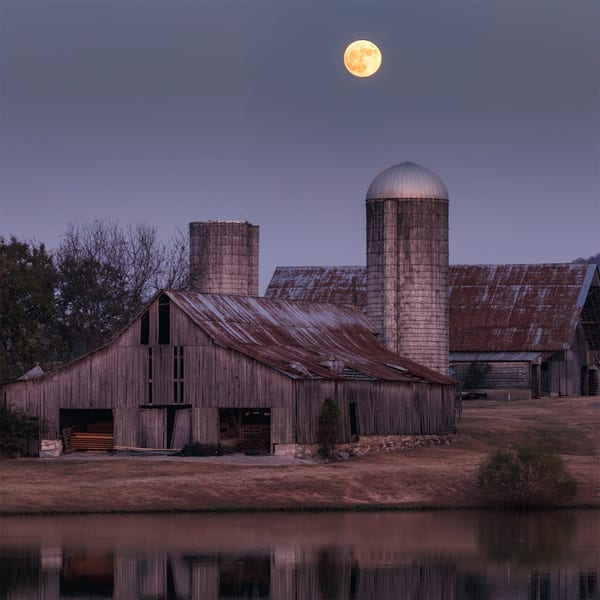 Moonlit Barns (Limited) Art | davinart