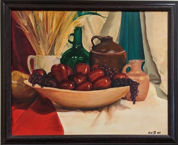 Ryan Smallwood Otero - original artwork - oil - still life - Heirloom Still Life