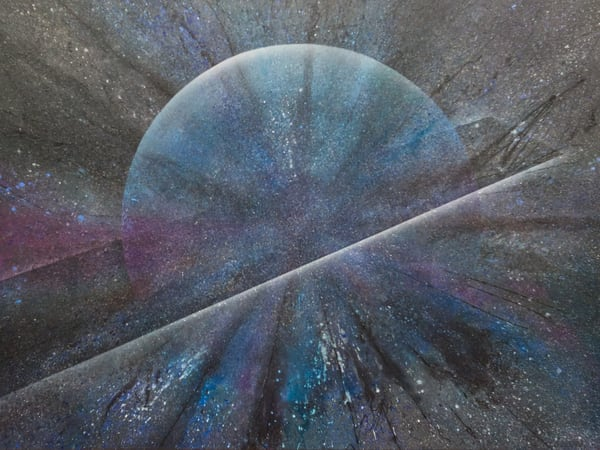 Etic Reality #3 - contemporary cosmic art by David Copson