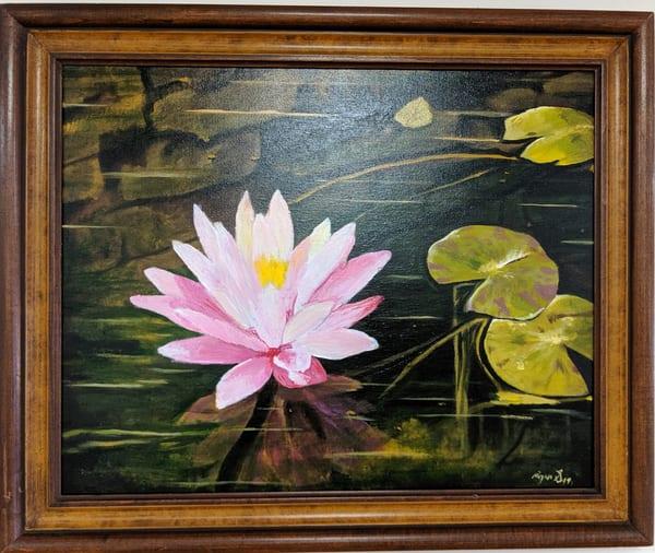Ryan Smallwood Otero - original artwork - nature - pond - Study of a Lily Pond