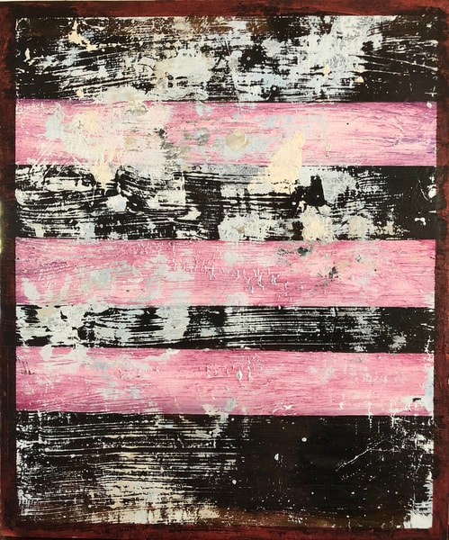 Pinko Flag Art | Adam Shaw Gallery