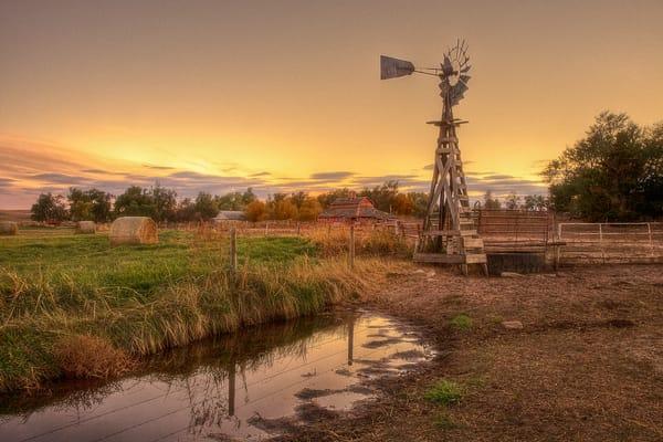 Windmill Abandoned Ranch