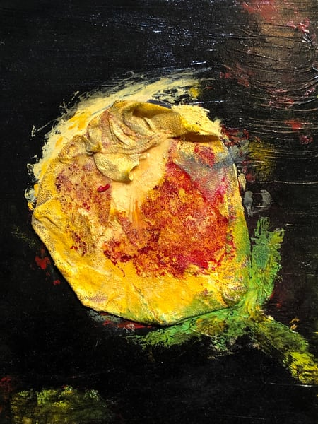 Yellow Rose Art | Adam Shaw Gallery