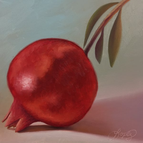 Pomegranate Jewel Art | Gema Lopez Fine Arts
