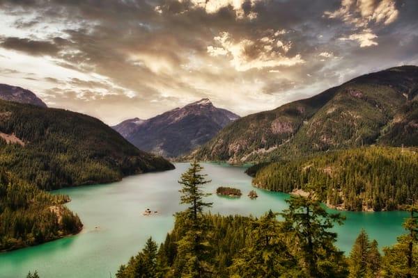 Blue Lake Photography Art | CJ Harding