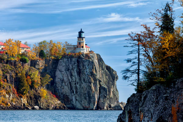 Split Rock Lighthouse Fall