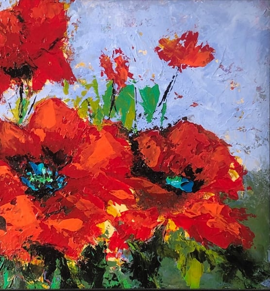 Poppies Art | Carol Moon Art