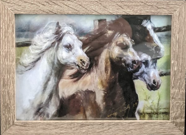 Larry Tinsley - print - animals - horses - Mixture of Horses