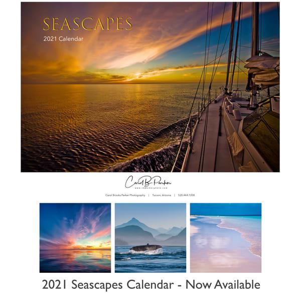 2021 Seascapes Calendar | Carol Brooks Parker Fine Art Photography