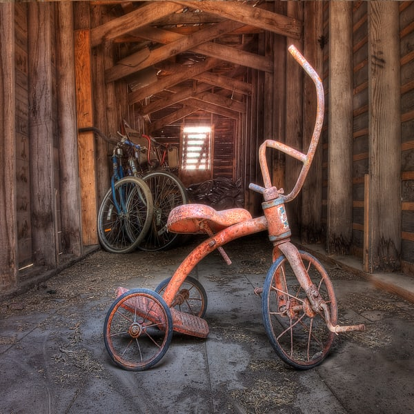 Abandoned Tricycle