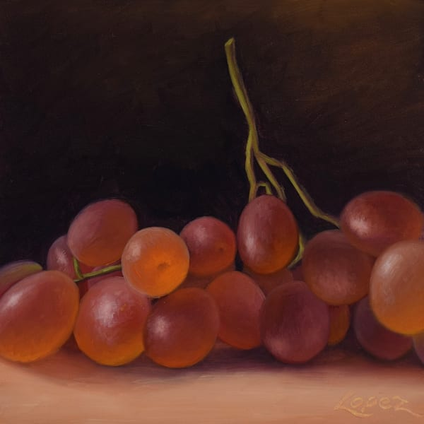 Table Grapes Art | Gema Lopez Fine Arts