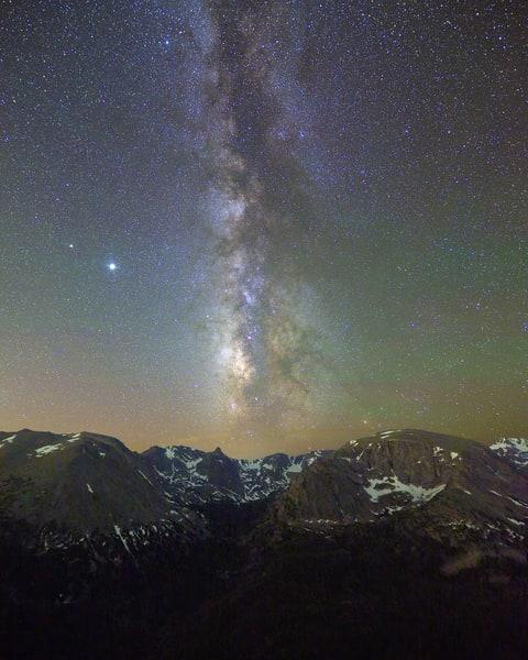 The Milky Way Over Hayden Gorge Photography Art | Nicholas Jensen Photography