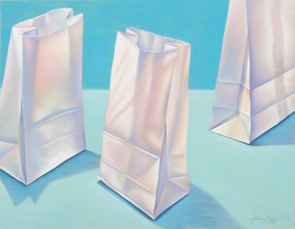Lunch Bags At St. Joseph's Art | Gema Lopez Fine Arts