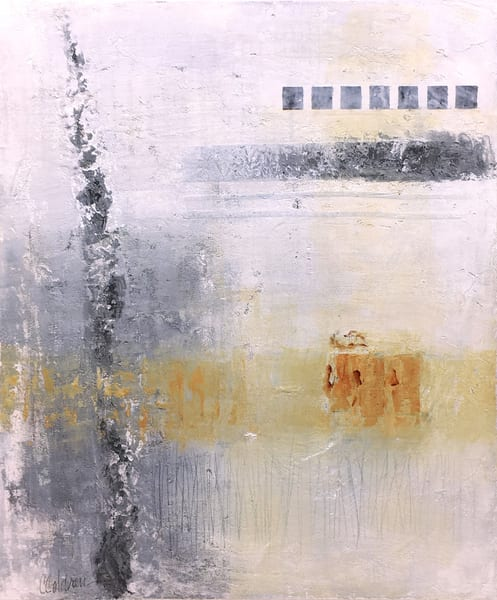 Charcoal and Rust - Original Abstract Painting | Cynthia Coldren Fine Art