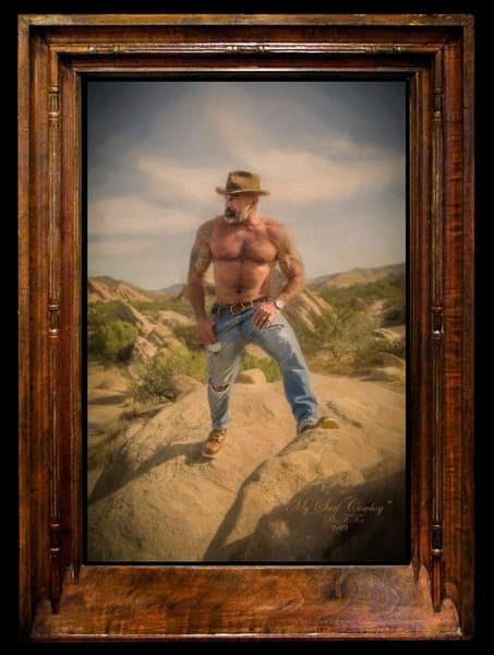 My Surf Cowboy, Limited Edition, Ben Fink, Art Print,